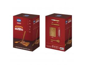 Conjunto Caipirinha 5 Peças Bamboo Mor 003395