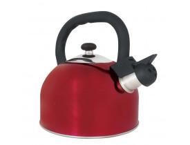 Chaleira Aço Inox 2,5 litros Mattina Vermelha Mor