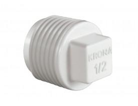 Plug Roscável 1/2'' Branco Krona