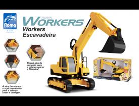 Escavadeira Workers Roma