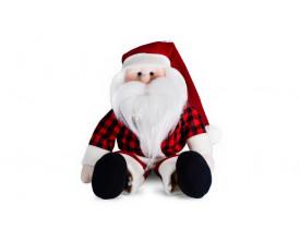 Papai Noel de Pelúcia Alegria Santa Klaus 30cm