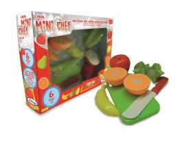 Mini Chef Frutas 6 Peças Xalingo