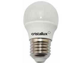 Lâmpada de Led Bolinha G45 2,5W Bivolt 6500K Luz Branca Fria Cristallux