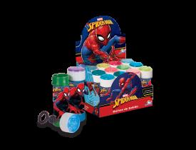 Bolhas de Sabão 60ml com Jogo Spiderman Brasilflex Individual