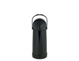 Garrafa Térmica de Pressão 1,0 litro Preta Nobile Mor 15,5x12,5x32cm