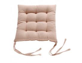 Almofada para Cadeira Futton 45x45cm Amendoa Hedrons