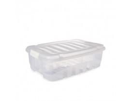 Caixa Organizadora Gran Box 19,8L 40x29x24cm Plasútil
