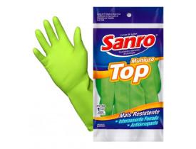 Luva Top Média Verde Sanro