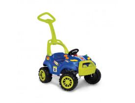 Carrinho Smart Passeio e Pedal Azul Bandeirantes