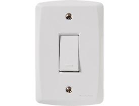 Conjunto 4x2 com 1 Interruptor Simples Lux2 Tramontina