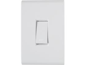 Conjunto 4x2 com 1 Interruptor Simples Liz Tramontina