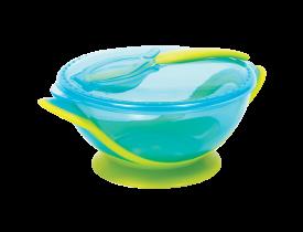 Kit Refeição com Colher Azul Buba