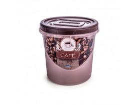 Pote de Plástico com Rosca para Café 1,8L Plasútil