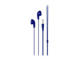Fone de Ouvido Earphone Play Azul Multilaser