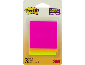 Blocos de Notas Adesivas Post-it Cascata 3M