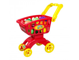 Carrinho Super Market Braskit Vermelho 8703