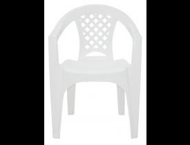 Cadeira de Plástico Iguape Branca Tramontina