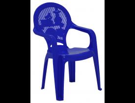 Cadeira Infantil Catty Azul Tramontina 38x35x55cm