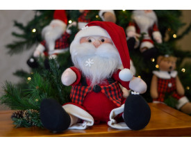 Papai Noel de Pelúcia Fofura Santa Klaus 50cm