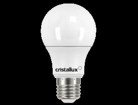 Lâmpada de Led Bulbo 9W Bivolt 6500K Luz Branca Fria Cristallux
