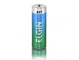 Pilha Bateria A27 Alcalina 12V Elgin