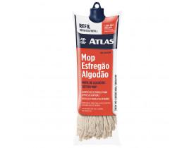 Refil Mop Esfregão Algodão com Cabo Atlas