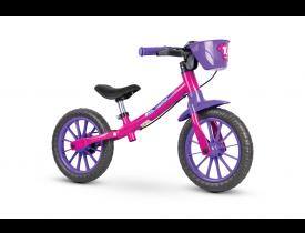 Bicicleta Balance Bike Femina Nathor