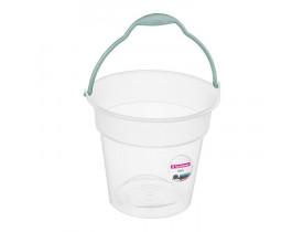 Balde 8 litros Transparente Sanremo