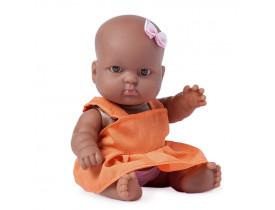 Boneca Super Toys Nenequinha Com Vestido Laranja