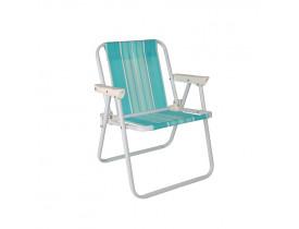 Cadeira de Praia Infantil Alta 39x41x49 Cor Sortida Mor