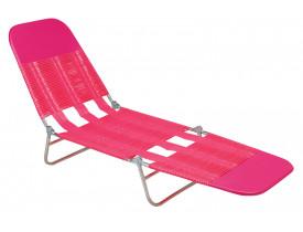 Cadeira Espreguiçadeira PVC 27x55x182cm Mor Cor Sortida