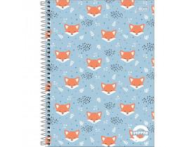 Caderno Universitário Capa Dura 10 Matérias 160 Folhas Pepper Tilibra Cor Sortida