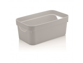 Caixa Organizadora Cube Ou Martiplast PQ 29,5x16,5x12,5cm Branca CC200