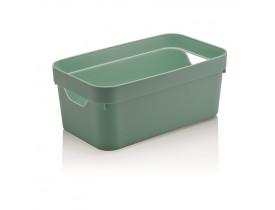 Caixa Organizadora Cube Ou Martiplast PQ 29,5x16,5x12,5cm Verde Menta CC200