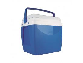 Caixa Térmica 26 litros Azul 29X38X42cm Mor