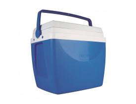 Caixa Térmica 34 litros Azul 31X41X47cm Mor