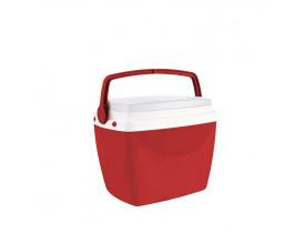 Caixa Térmica 6L Mor 30x20x24cm Vermelha