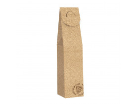 Caixa de Presente para Vinho Cortiça Pardo 8X8X39cm Cromus Embalagens