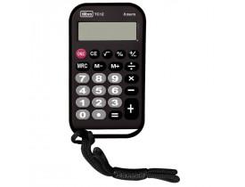 Calculadora de Bolso TC12 8 Dígitos Média Preta Tilibra