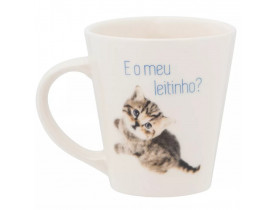 Caneca Oxford Drop Miau 250ml