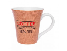 Caneca Oxford Tulipa Coffe 330ml