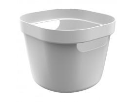 Cesto Cube Flex Ou Martiplast 21x20x16cm Branco CF1000