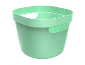 Cesto Cube Flex Ou Martiplast 21x20x16cm Verde Menta CF1000