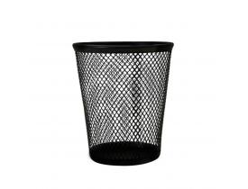 Cesto para Lixo 12 litros Aramado Preto Keep