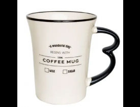 Caneca Easy 330ml Coffee Mug Oxford 9x9x10,5cm