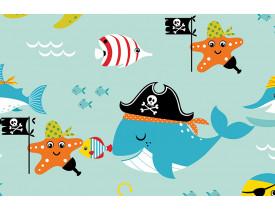 Contact 45cm x 10,0 metros Piratas do Mar Plavitec