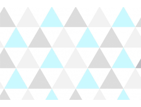 Contact 45cm x 10,0 metros Triângulo Azul Plavitec