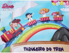 Brinquedo Tabuleiro do Trem DiverGame