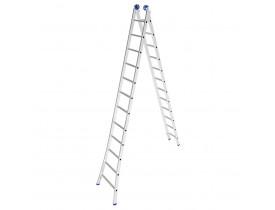 Escada Extensível 6,17 metros de Alumínio 2x12 Mor 5208
