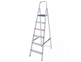 Escada Mor de Alumínio 6 Degraus
